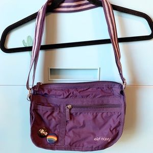 Old Navy, Crossbody, Purple Purse